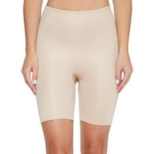 spanx power conceal mid thigh shorts new